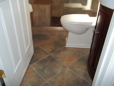 """ Diamond Design - Bathroom Tile"""